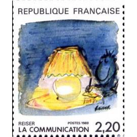 France Yvert Num 2504 ** BD  Reiser 1988