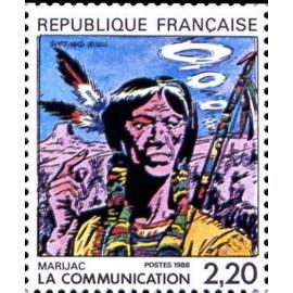 France Yvert Num 2505 ** BD  Marjac 1988