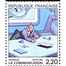 France Yvert Num 2507 ** BD  Moebius 1988