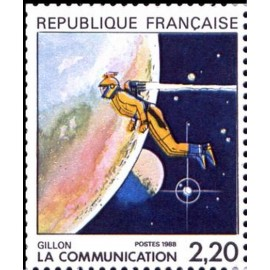 France Yvert Num 2508 ** BD  Gillon 1988
