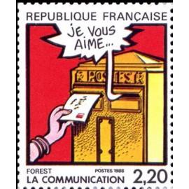 France Yvert Num 2510 ** BD  Forest 1988