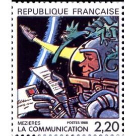 France Yvert Num 2511 ** BD  Mezieres 1988