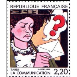 France Yvert Num 2512 ** BD  Tardi 1988