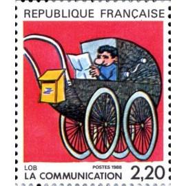 France Yvert Num 2513 ** BD  Lob 1988
