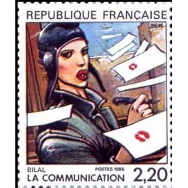France Yvert Num 2514 ** BD  Bilal 1988