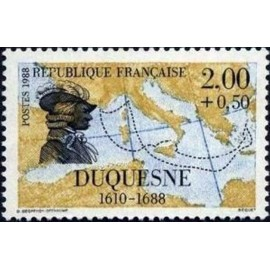 France Yvert Num 2517 ** voiliers bateau  1988