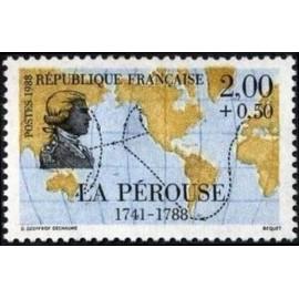France Yvert Num 2519 ** voiliers bateau Perouse 1988