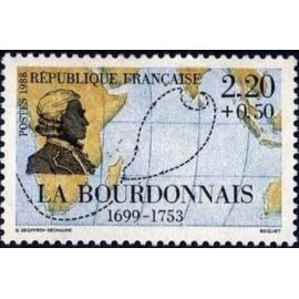 France Yvert Num 2520 ** voiliers bateau  1988