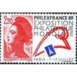 France Yvert Num 2524 ** Philexfrance  1988