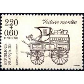 France Yvert Num 2526 ** JDT 1988 du carnet  1988