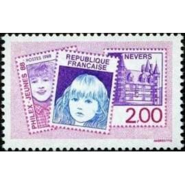 France Yvert Num 2529 ** Nevers  1988