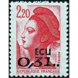 France Yvert Num 2530 ** Liberté  1988