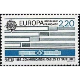 France Yvert Num 2531 ** Europa   1988