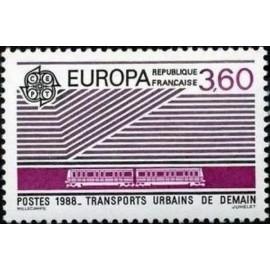 France Yvert Num 2532 ** Europa   1988
