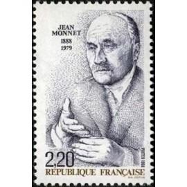 France Yvert Num 2533 ** Jean Monnet  1988