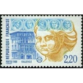 France Yvert Num 2534 ** Valence Drome  1988