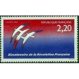 France Yvert Num 2560 ** Folon revolution  1989