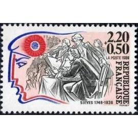 France Yvert Num 2564 ** Revolution Sieyes 1989