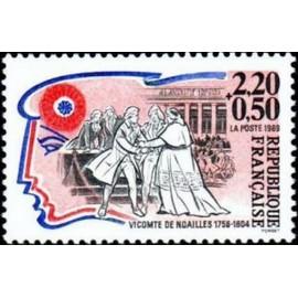 France Yvert Num 2566 ** Revolution De Noailles 1989