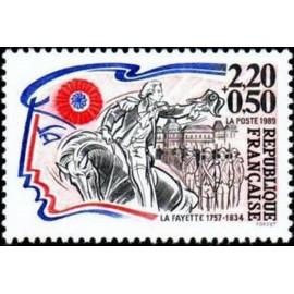 France Yvert Num 2567 ** Revolution La Fayette 1989