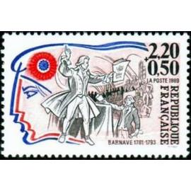 France Yvert Num 2568 ** Revolution Barnave 1989