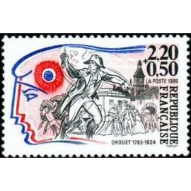 France Yvert Num 2569 ** Revolution Drouet 1989