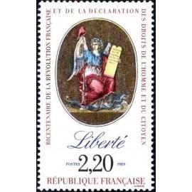 France Yvert Num 2573 ** Revolution Liberte 1989