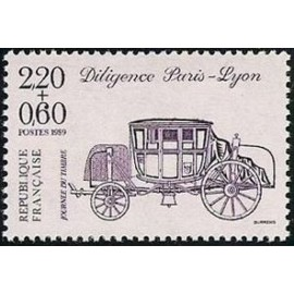 France Yvert Num 2578 ** JDT Carnet  1989