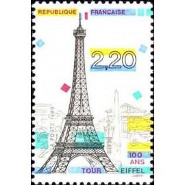 France Yvert Num 2580 ** Tour Eiffel  1989