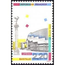 France Yvert Num 2583 ** Opera Bastille  1989
