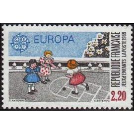 France Yvert Num 2584 ** Europa  1989