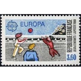 France Yvert Num 2585 ** Europa  1989