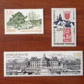 France Yvert Num 2586-2588 **   1989
