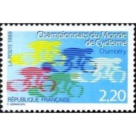 France Yvert Num 2590 ** Cyclisme Velo  1989