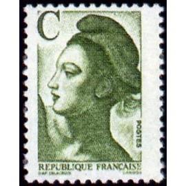 France Yvert Num 2615 ** C vert  1990