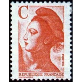 France Yvert Num 2616 ** C rouge  1990