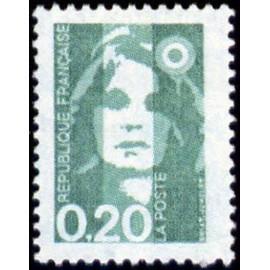 France Yvert Num 2618 ** 0,2 Marianne de Briat 1990