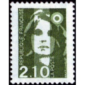 France Yvert Num 2622 ** 2f10 Marianne de Briat 1990