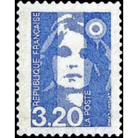France Yvert Num 2623 ** 3f20 Marianne de Briat 1990