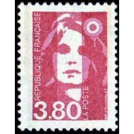 France Yvert Num 2624 ** 3f80 Marianne de Briat 1990