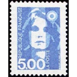 France Yvert Num 2625 ** 5f Marianne de Briat 1990