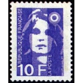 France Yvert Num 2626 ** 10f Marianne de Briat 1990