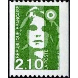 France Yvert Num 2627 ** 2f10  Marianne de Briat 1990