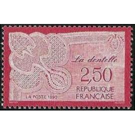 France Yvert Num 2631 ** la dentelle  1990