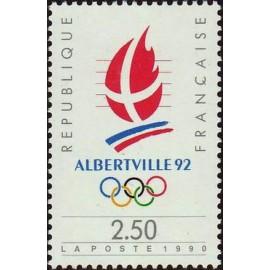 France Yvert Num 2632 ** JO 1992  1990