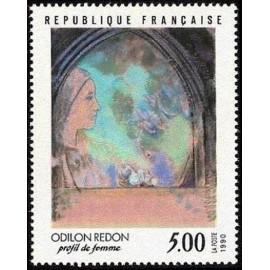France Yvert Num 2635 ** Tableau Odilon Redon  1990
