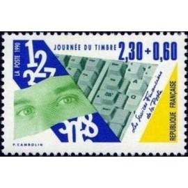 France Yvert Num 2640 ** JDT Carnet  1990
