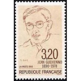France Yvert Num 2641 ** Guéhenno  1990