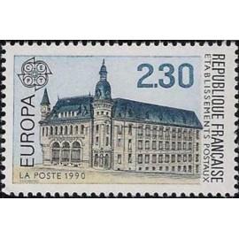 France Yvert Num 2642 ** Europa  1990