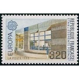 France Yvert Num 2643 ** Europa  1990